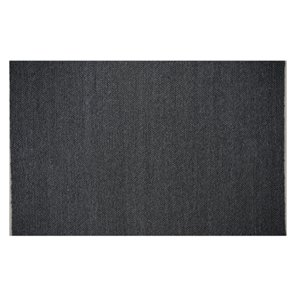 Collection Bourbon Street Louisville Area Rug - 8-ft x 10-ft - Charcoal