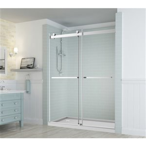 Turin Laberge Alcove Shower Door - 48-in x 75-in