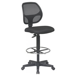 Nicer Interior Computer Desk Drafting Chair - Black