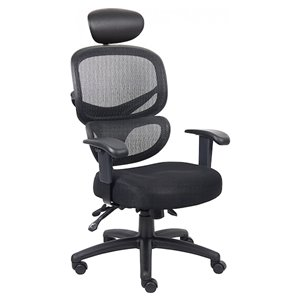 Nicer Interior Ergonomic Desk Chair - Black