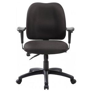 Nicer Interior Ergonomic Multi-Function Computer Chair - Black