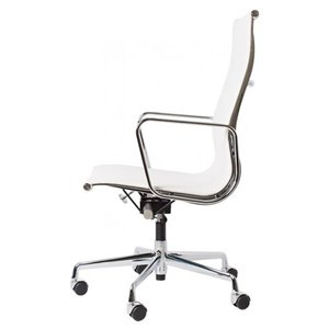Nicer Interior Executive Office Chair - High Back - White