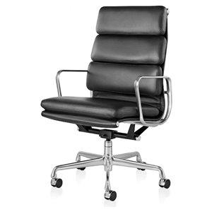 Nicer Interior Eames Executive Office Chair High Back - Black