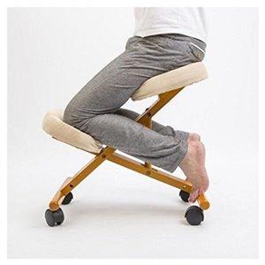 Nicer Interior Memory Foam Drafting Chair - Grey