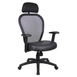 Nicer Interior Ergonomic Professional Office Chair - Black