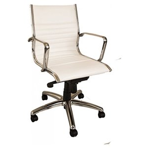 Nicer Interior Traditional Executive Chair - White