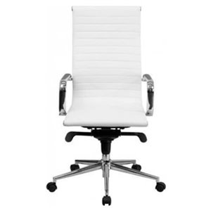 Nicer Interior Modern Eames Executive Office Chair - High Back - White