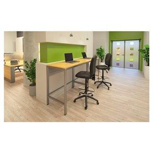 Nicer Interior Casual Multi-Function Ergonomic Drafting Chair - Black