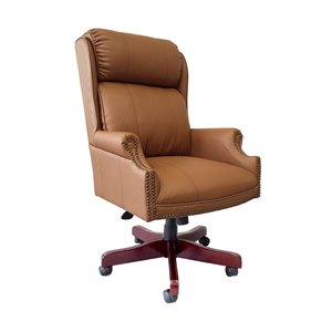 Nicer Interior Traditional Executive Chair - Brown