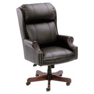 Nicer Interior Traditional Executive Chair - High Back - Black