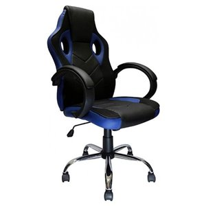 Nicer Interior Reclining Gaming Chair - Blue