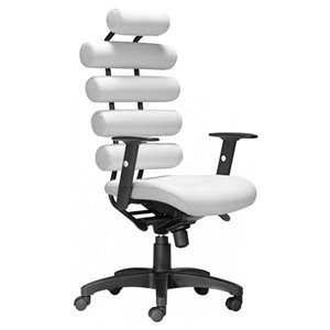 Nicer Interior Modern Executive Office Chair - White