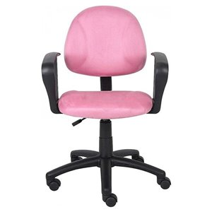 Nicer Interior Perfect Posture Desk Chair - Pink