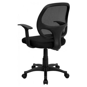 Nicer Interior Ergonomic Office Chair with Adjustable Arms - Black
