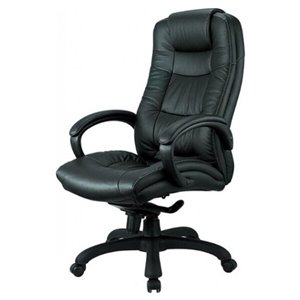 Nicer Interior Executive Chair - Black Leather