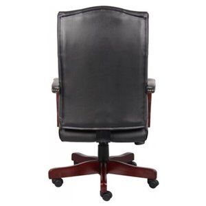 Nicer Interior Traditional Executive Office Chair - Black