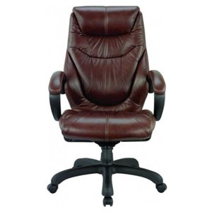 Nicer Interior Ergonomic Executive Chair - Chocolate Brown