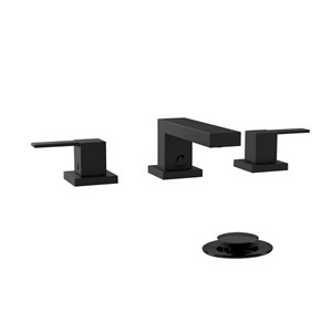 Belanger Sink Faucet Angular and Square Collection - Matte Black Finish