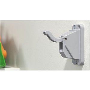 Richelieu Safety Hook - 95.3-mm - Light Grey