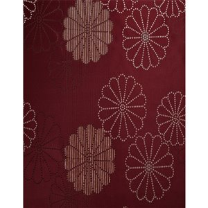 North Home Rolea Single Curtain Panel - Grommet - 96-in - Burgundy