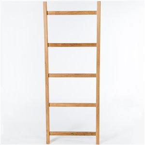 ARB Teak & Specialties Towel Decorative Ladder - 59-in - Teak