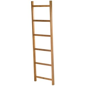 ARB Teak & Specialties Towel Decorative Ladder - 71-in - Teak