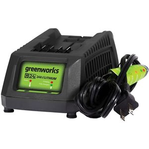 Greenworks Lithium-Ion Rapid Battery Charger - 24 volts