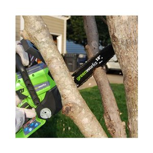 Greenworks Pro Cordless Chainsaw - 24-Volt - 10-in Bar Length