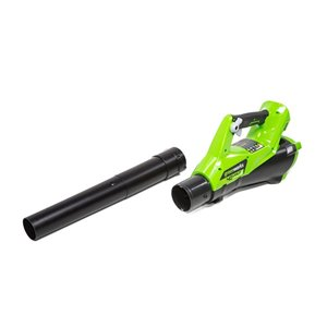 Greenworks Axial Cordless Leaf Blower - 40-Volt - 390 CFM