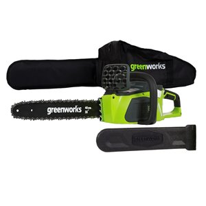 Greenworks Cordless Chainsaw - 40-Volt - 16-in Bar Length