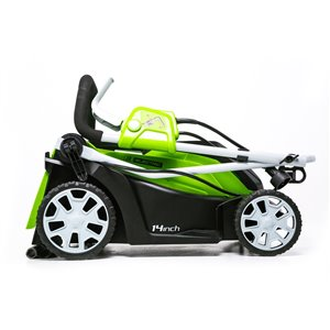 Greenworks Corded Electric Lawn Mower - 9-Amp - 14-in