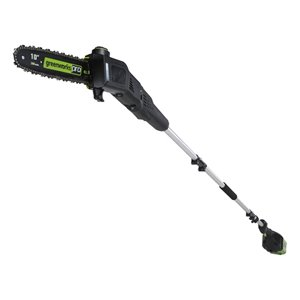 Greenworks Pro Cordless Pole Saw - 80-Volt - 10-in Bar Length