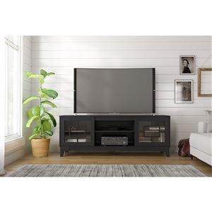 Nexera Magnolia TV Stand - 72-in - Black