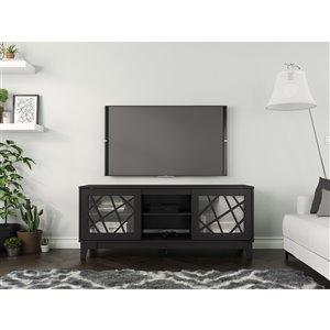 Nexera Graphik TV Stand - 63-in - Black