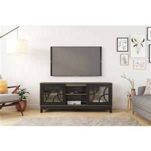 Nexera Venus TV Stand - 63-in - Black/Grey