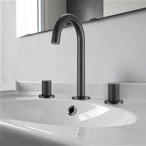 Ancona Industria Widespread Bathroom Sink Faucet - 2-Handle - Matte Black