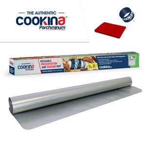 COOKINA Parchminum Reusable Cooking and Baking Mat - 40-cm x 60-cm
