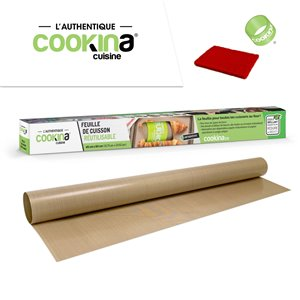 COOKINA Cuisine Reusable Baking Mat - 40-cm x 60-cm