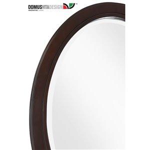 Domus Vita Design Abigail Mirror - Tobacco