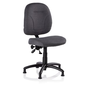 Reliable SewErgo Sewer Chair - Adjustable - Black