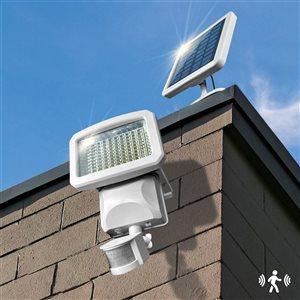 Classy Caps Solar Motion Sensor Security Light - Integrated LED - White