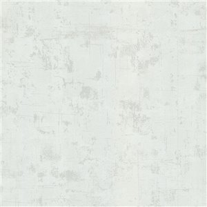 Advantage Stones & Woods Brooks Non-Woven and Unpasted Wallpaper - Stone Pattern - 56.4-sq. ft. - Off-White