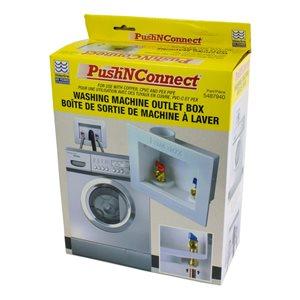 Waterline P'N'C Washing Machine Outlet Box