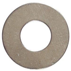 #8 Stainless Steel Standard (SAE) Flat Washer (5-Pack)
