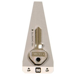 Hillman #58 Masters Padlock Key Blank