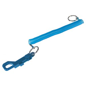Hillman Joggers Coil Key Ring with Snap