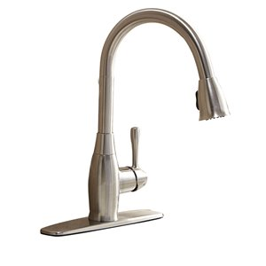 AquaSource 1-Handle Pull-Down Kitchen Faucet