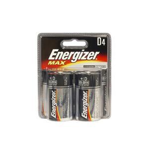 Energizer D Alkaline Battery (4-Pack)