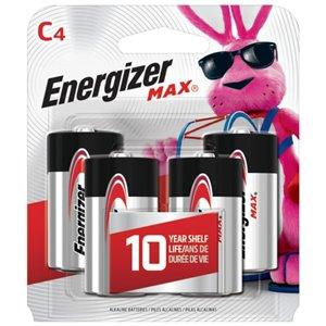 Energizer C Alkaline Batteries (4-Pack)
