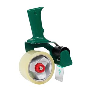 Duck 1.88-in x 54.6-yd Clear Packing Tape with Dispenser